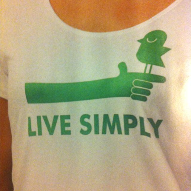 Live Simply Patagonia tshirt