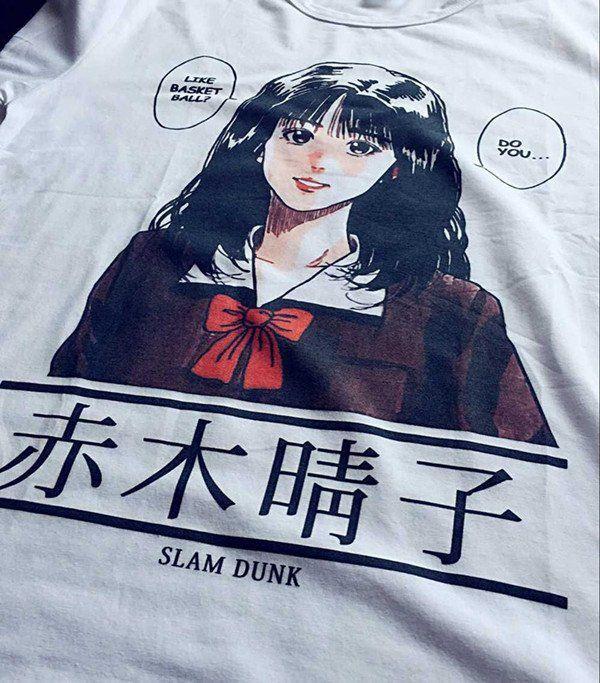 b6e6f8e3ea5a Slam Dunk Manga T-Shirt - Clothes - Online Aesthetic Shop - 1 ...