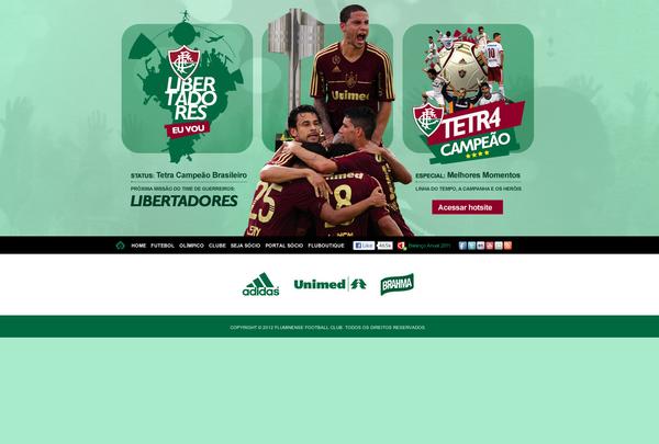 Site oficial do Fluminense - hotsite pela campanha do Tetracampeonato  Brasileiro f1d531826e6b4