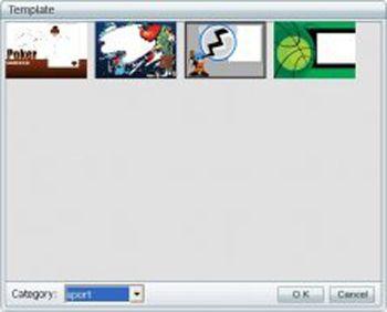 window movie maker templates