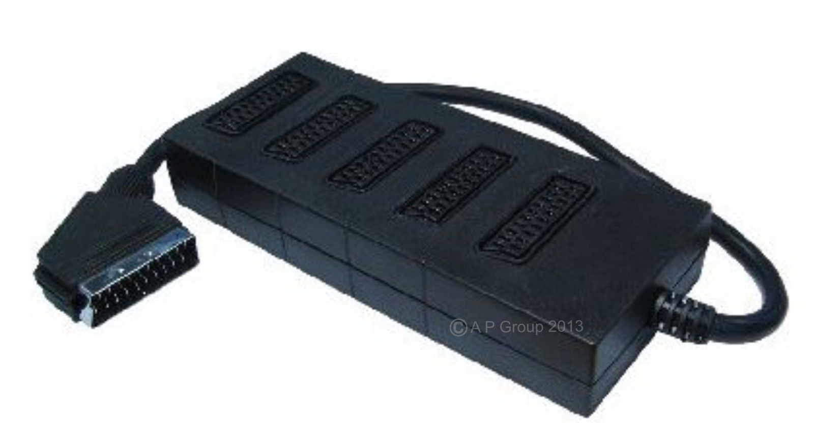 5 Way Scart Lead Cable Wire Splitter Adapter Switch Box Pinterest 2 503 Gbp Ebay