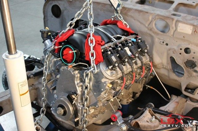 Guide To Swapping An Ls3 Into Your Street Strip Chevy Chevy Ls