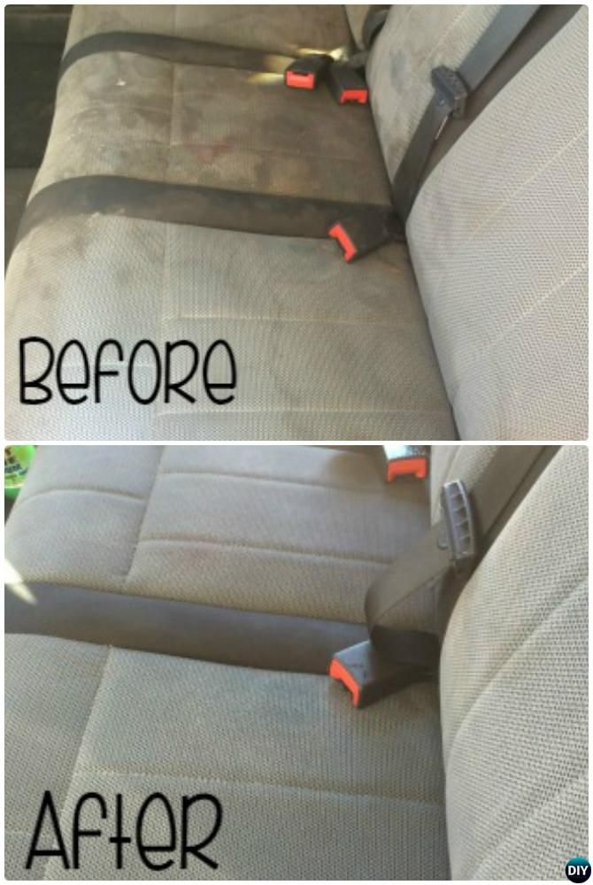 Deep Clean Car Seat 20 Car Cleaning Detailing Tips And Tricks Clean Car Seats Car Cleaning Deep Cleaning Tips