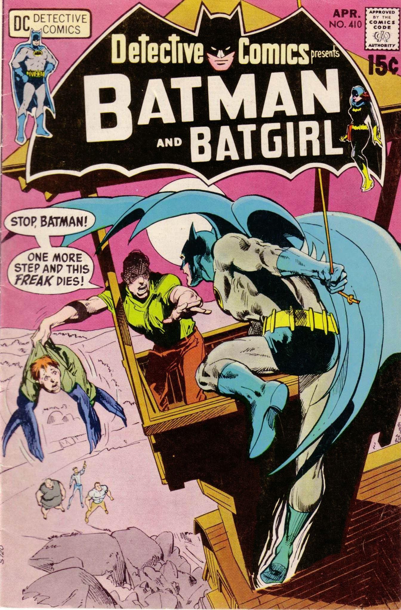 Detective Comics 410 by Neal Adams   Neal Adams   Pinterest