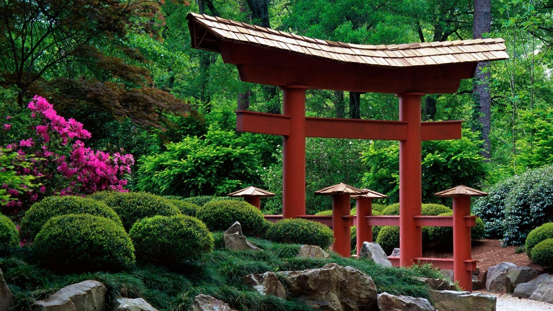 japanese garden sights and sounds in japan