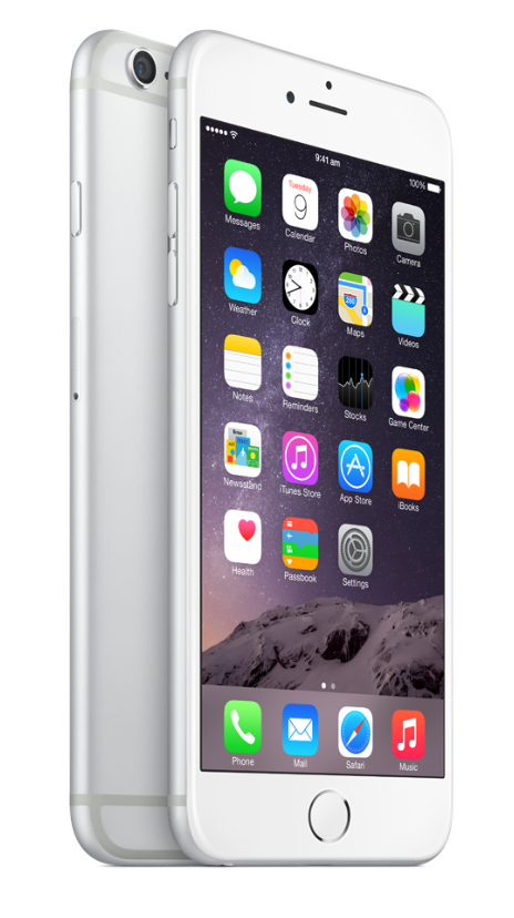 Both iPhone 6 models feature a new Retina HD display