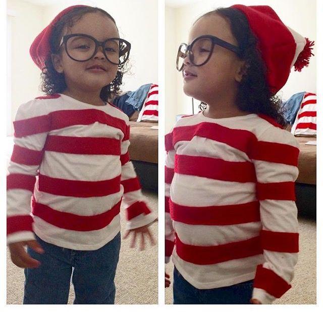 DIY Where\u0027s Waldo Halloween costume for toddlers   www99wtf - unique toddler halloween costume ideas