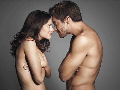 Love and Other Drugs... wasn't a great film, but these two beautiful people looked incredible naked well I was mostly looking at Jake haha