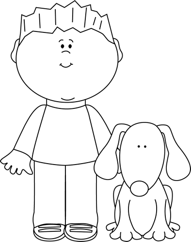 13+ Clipart black and white dog information