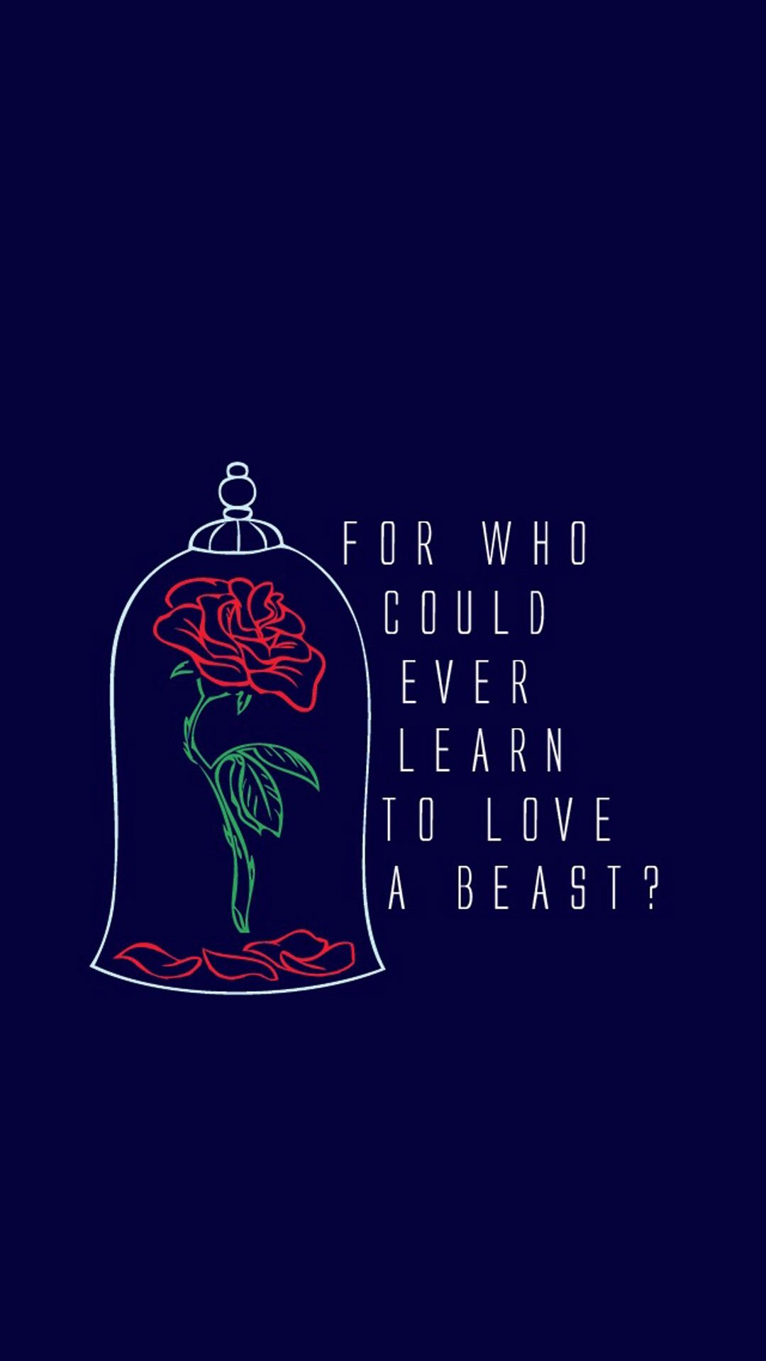 Beauty & the Beast | Wallpaper | Pinterest | Beast ...