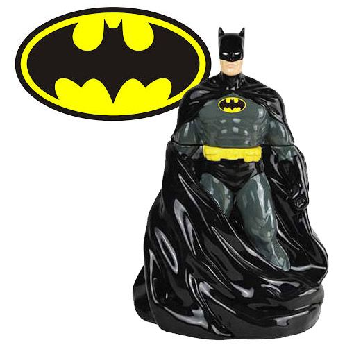 Pote para biscoitos Batman Cape Cookie Jar ~ SuperVault