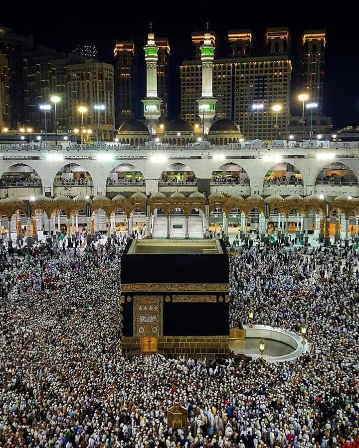 Mekke Kabe Mekke Camiler Islam