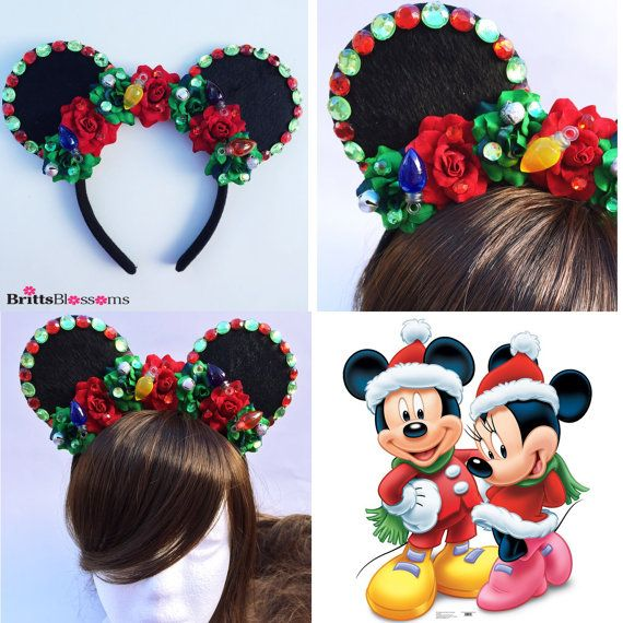 185098bf2b120 Christmas Mouse Ears