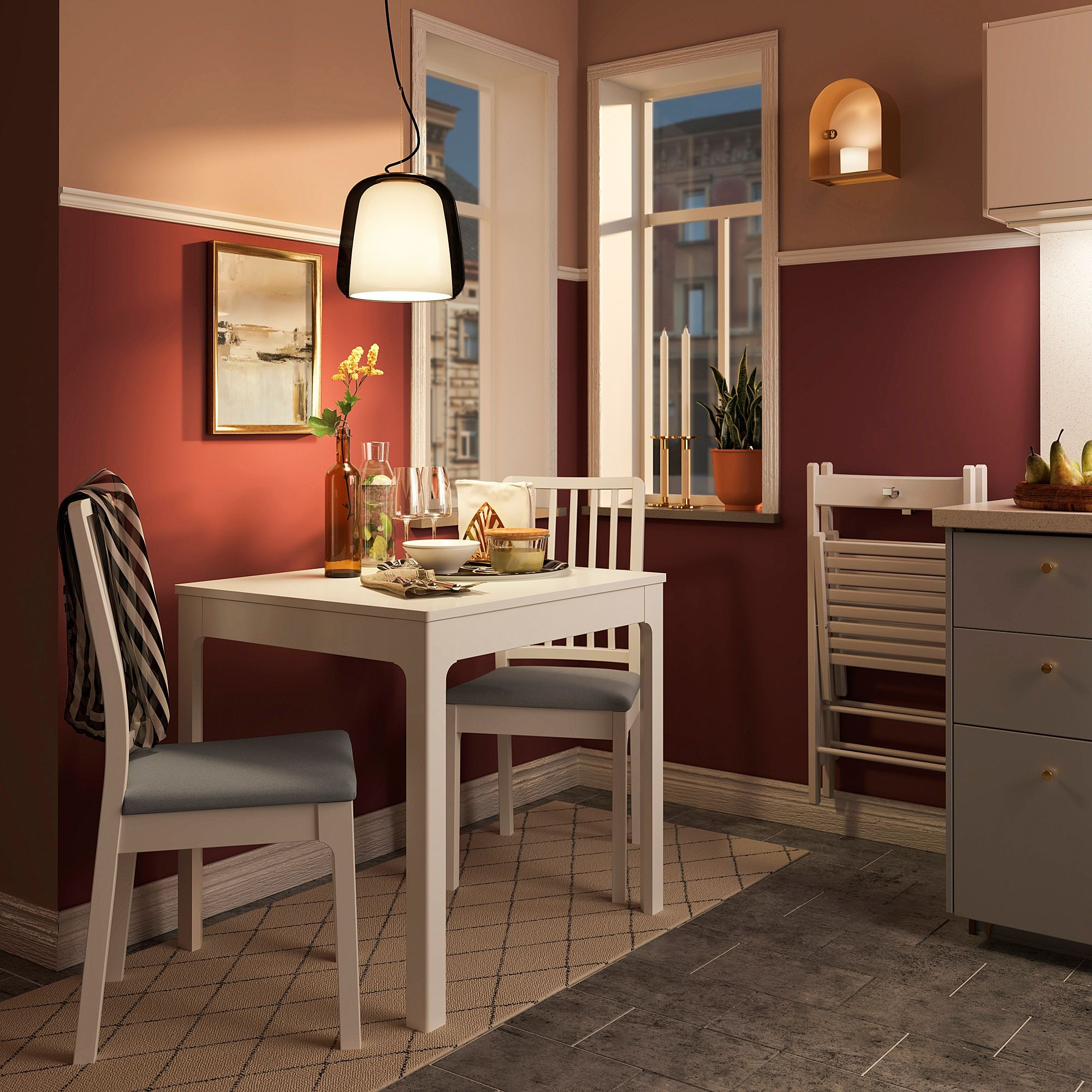 Ikea Ekedalen Chair White Orrsta Light Gray Products
