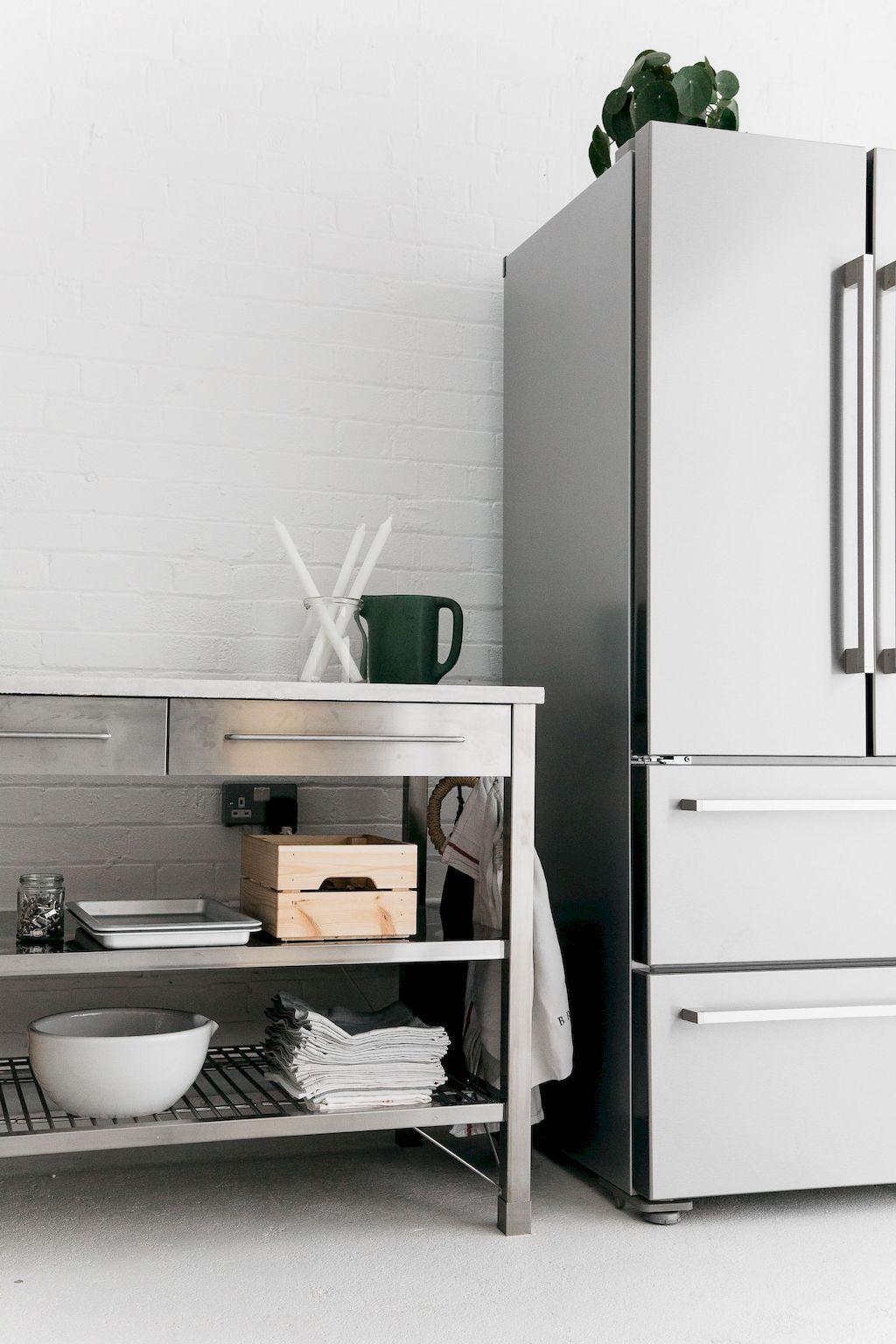 Kitchen remodel ideas stainless and metal kitchen cabinet kitchen