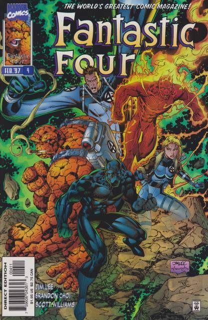 Fantastic Four Volume Comic Vine Fantastic Four Comics Fantastic Four Marvel Comics Covers