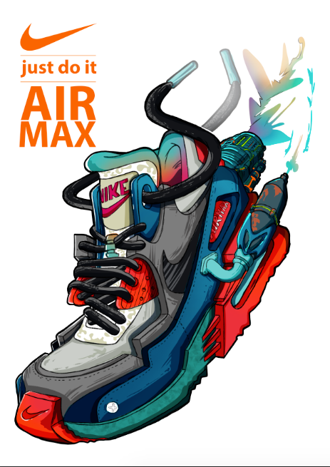 ilustración sneakers | Logo in 2019 | Sneakers wallpaper
