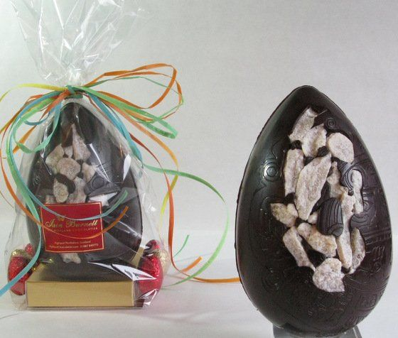 Luxury Chinese Ginger Dark Chocolate Egg with Belgian Praline Eggs
