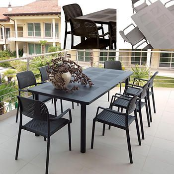 COSTCO - patio dining set in *charcoal*