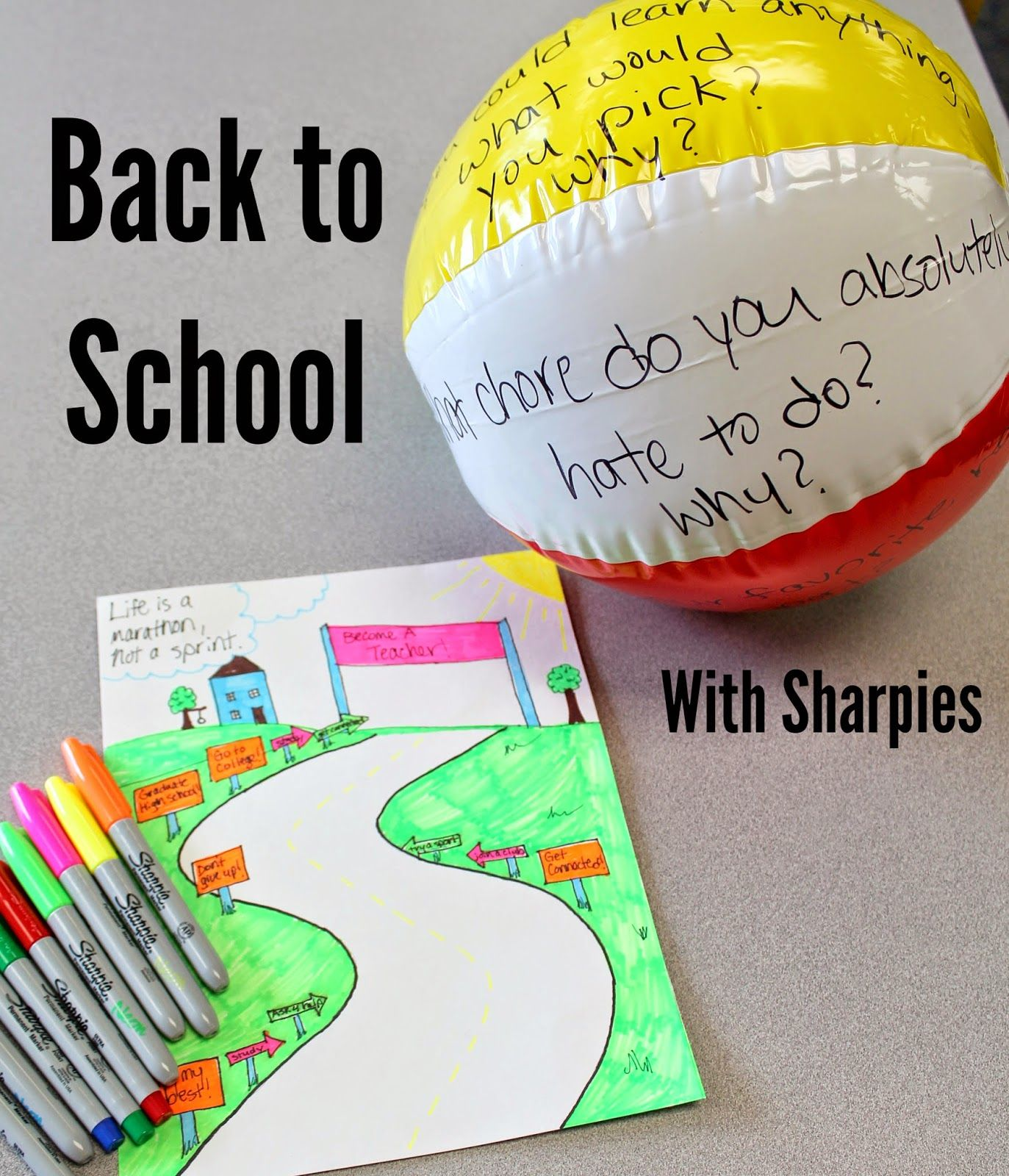 Back To School With Sharpies At Staples