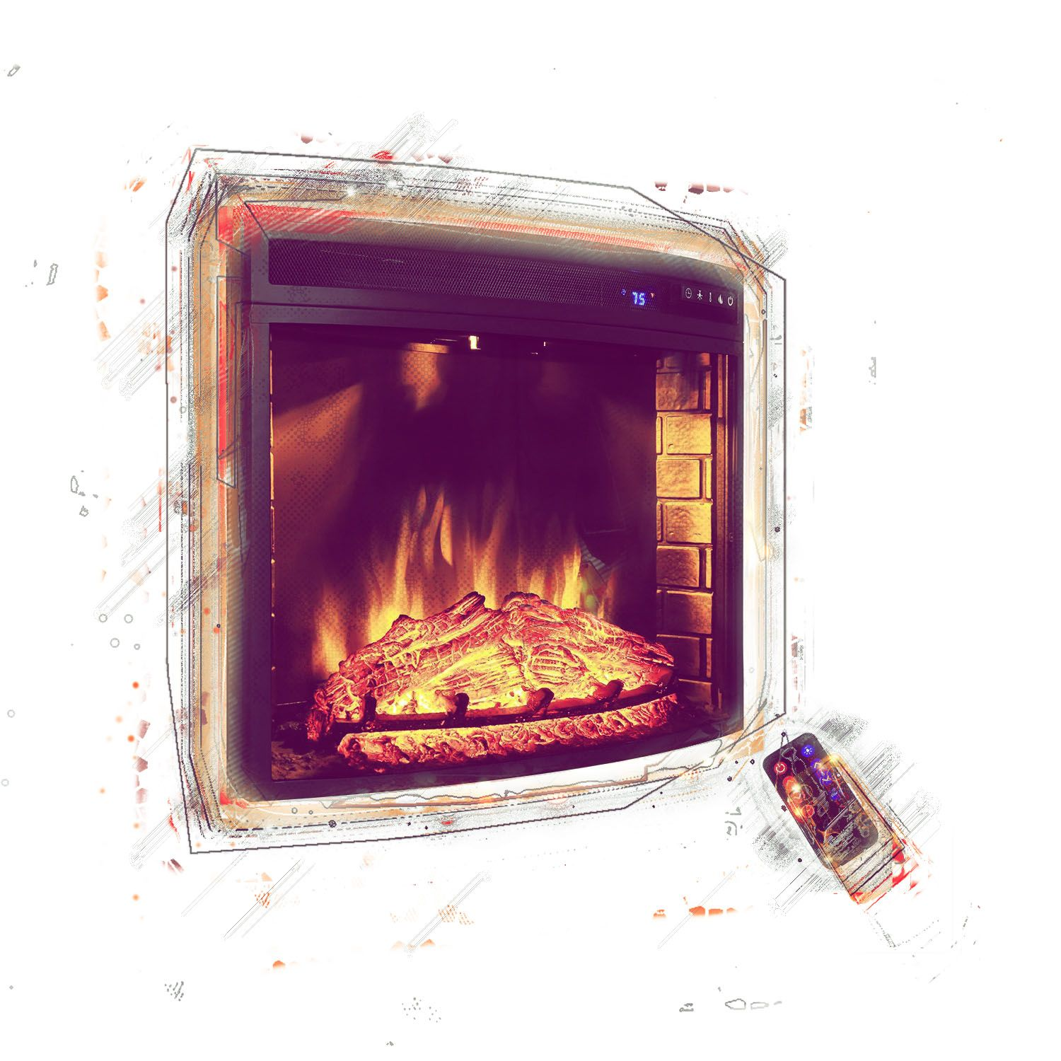 Best Electric Fireplace Insert Reviews In 2017 Electric Fireplace