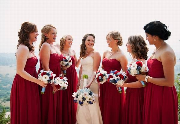 Top 6 fall wedding color combinations bridesmaid dresses trends fall bridesmaid dresses 2014 top 6 fall wedding color combinations bridesmaid dresses trends junglespirit Images