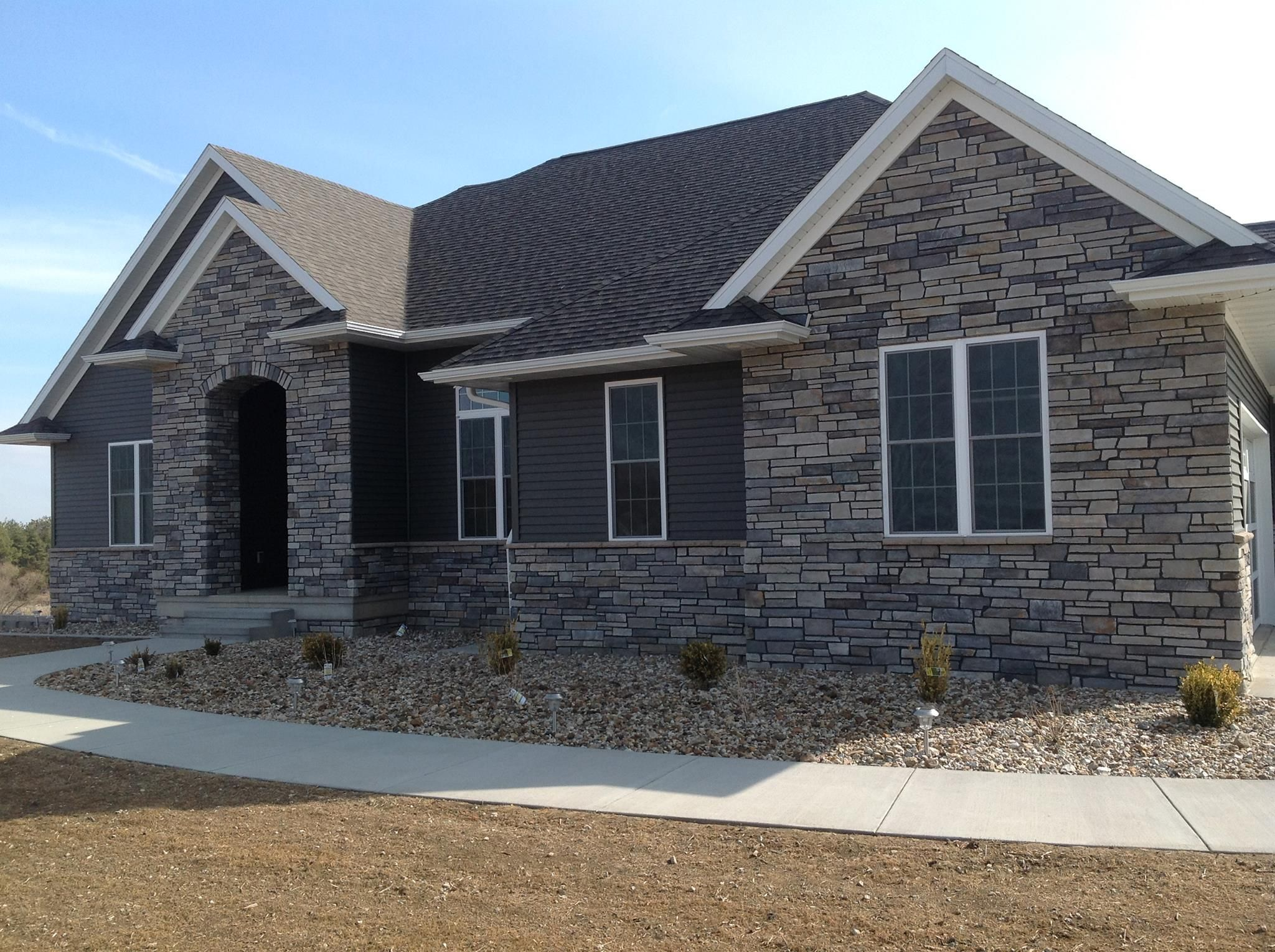 Best 25 Stone Veneer Exterior Ideas On Pinterest: Boral Echo Ridge Country Ledgestone