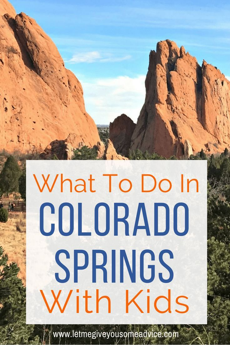 Fantastic Things To Do In Colorado Springs With Kids The