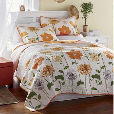 Sunshine Oversized Quilt Shams Country Door Linens Bedding