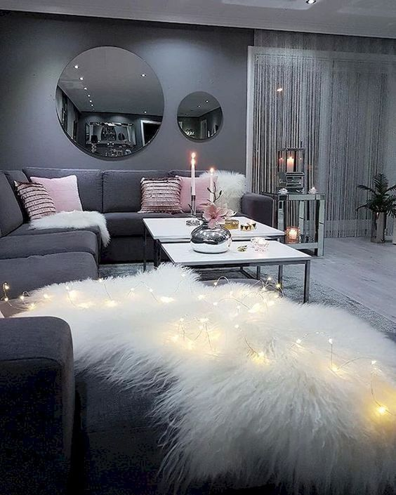 Living Room Sofa Home Decoration Lighting Storagetv Background Wall Wall Decoration Wall H Apartment Living Room Woman Bedroom Living Room Decor Apartment