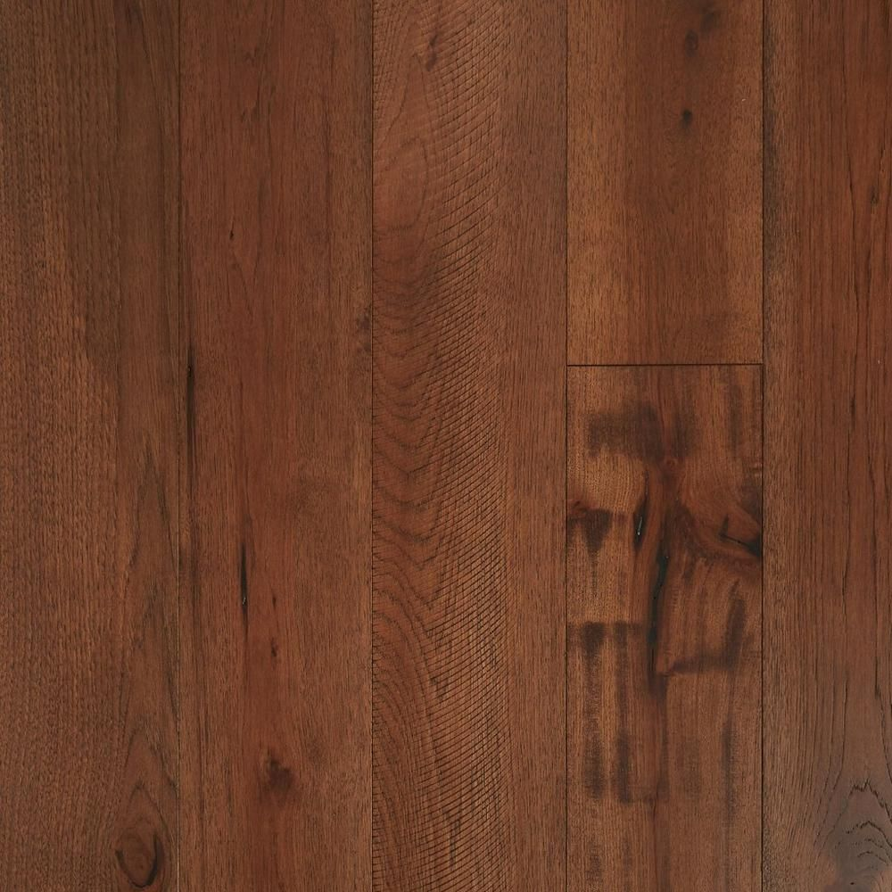 Hickory Dark Distressed Engineered Hardwood Engineered Hardwood Hardwood Wood Floors Wide Plank