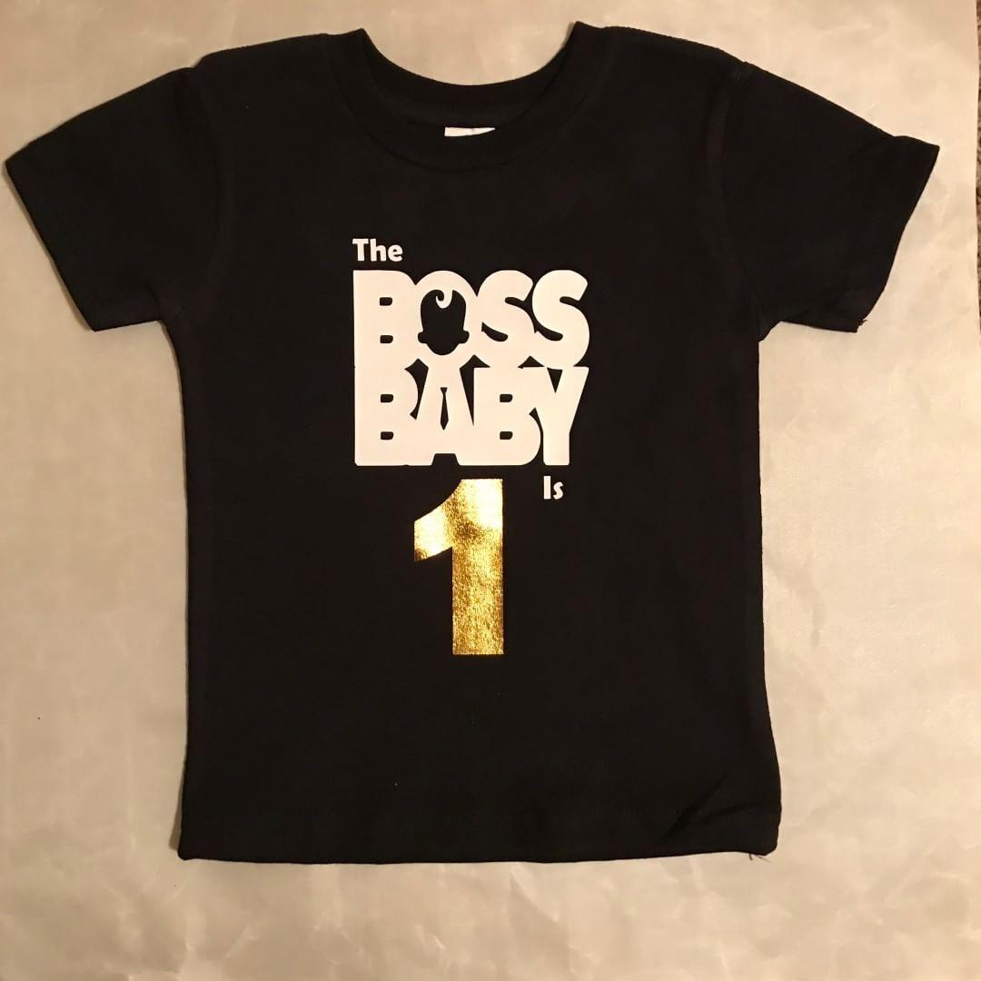 Boss Baby Inspired Birthday Shirt Custom Made