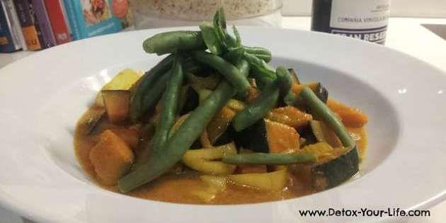Detox Rezept: Kürbis Curry