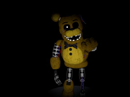 Similiar Ignited Golden Freddy