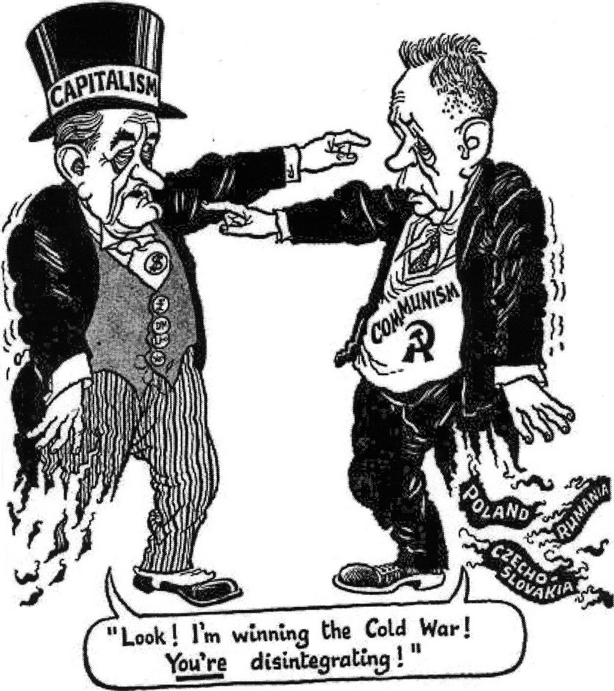 A British Cartoon Published In March The Figure On