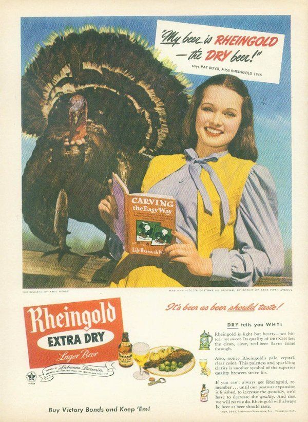 11 Fascinating Vintage Thanksgiving Ads in 2019