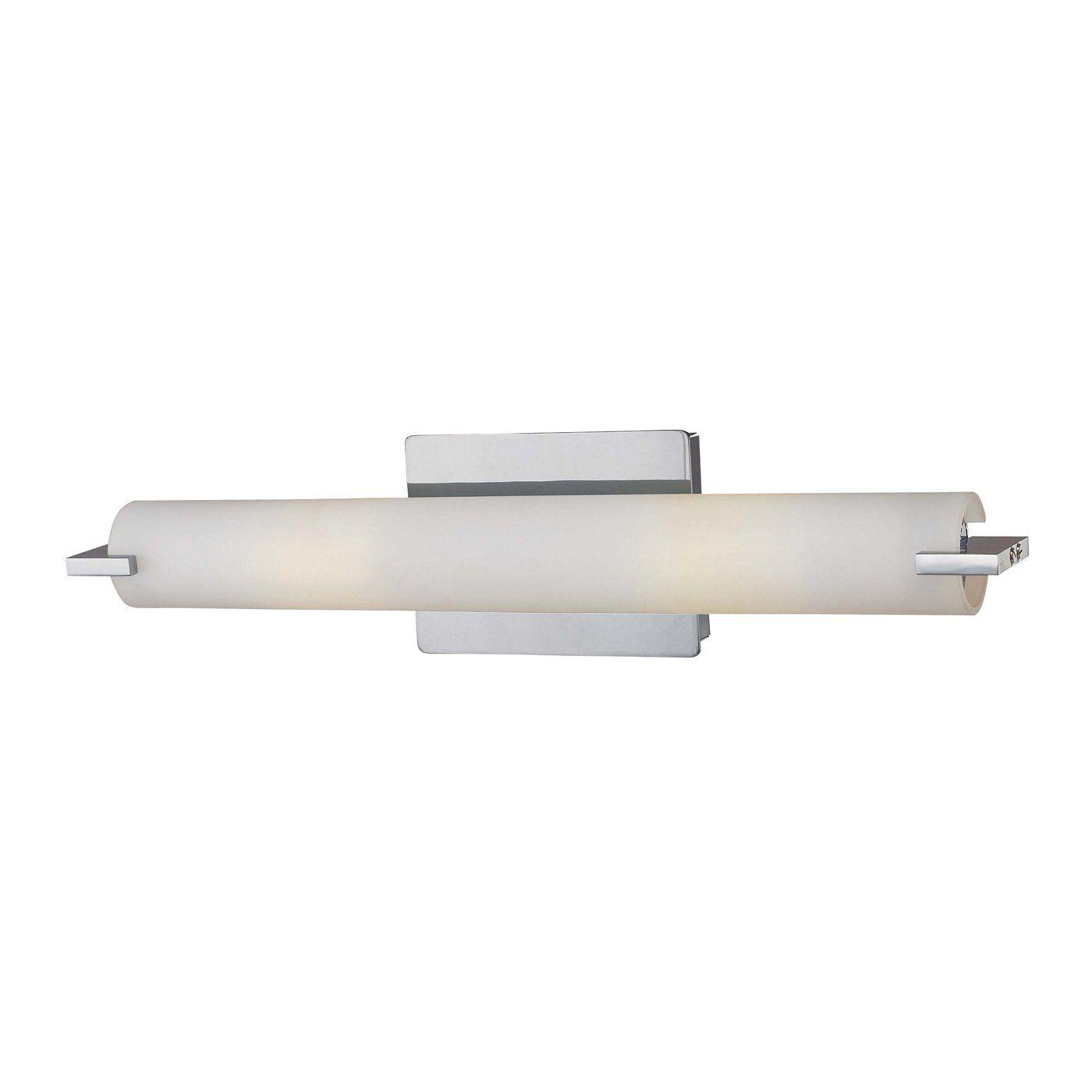 George Kovacs P5044 077 Pl 2 Light Tube Fluorescent Bathroom Light