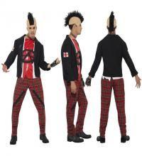 Anarquista Años Punk Disfraz De Para Hombre 80 Tallas En Los Varias STx5OqnxwH