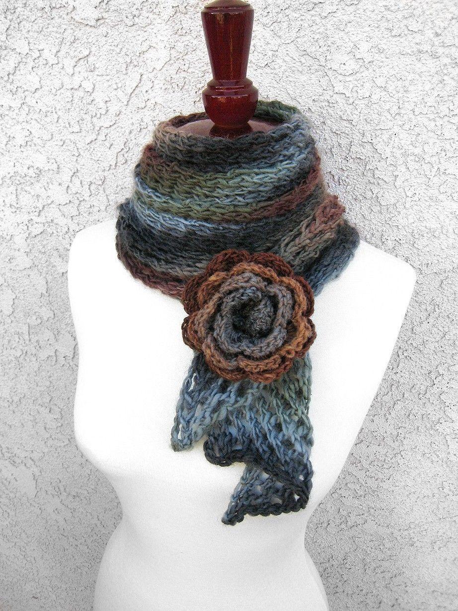40 Light and Lacy Scarf Knitting Patterns | Knit patterns, Scarves ...