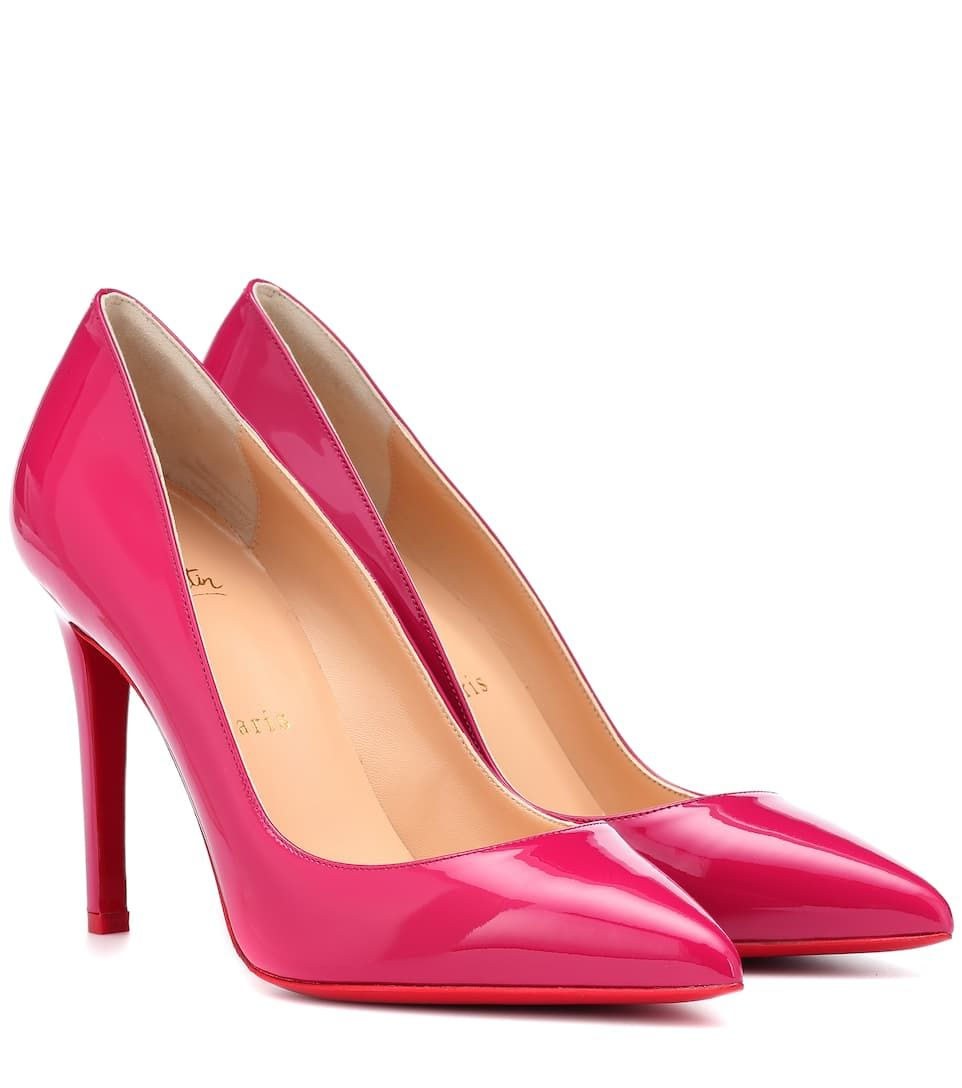 best cheap c9320 5e02a Christian Louboutin Pigalle 100 patent leather pumps in 2019 ...