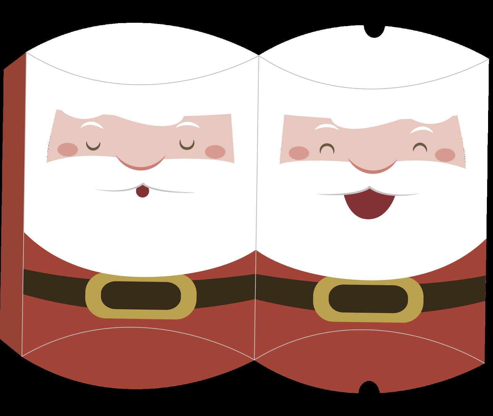 Cajas Almohada para Navidad para Imprimir Gratis. | hojas decoradas ...