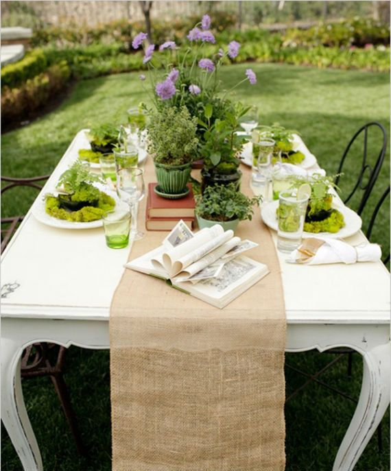 Burlap Table Runner 12 X 72 Perfect For Rustic Wedding Shabby Chic Wedding Christmas Decoration Holiday Decoration Garden Bridal Showers Herb Centerpieces Burlap Table Decorations
