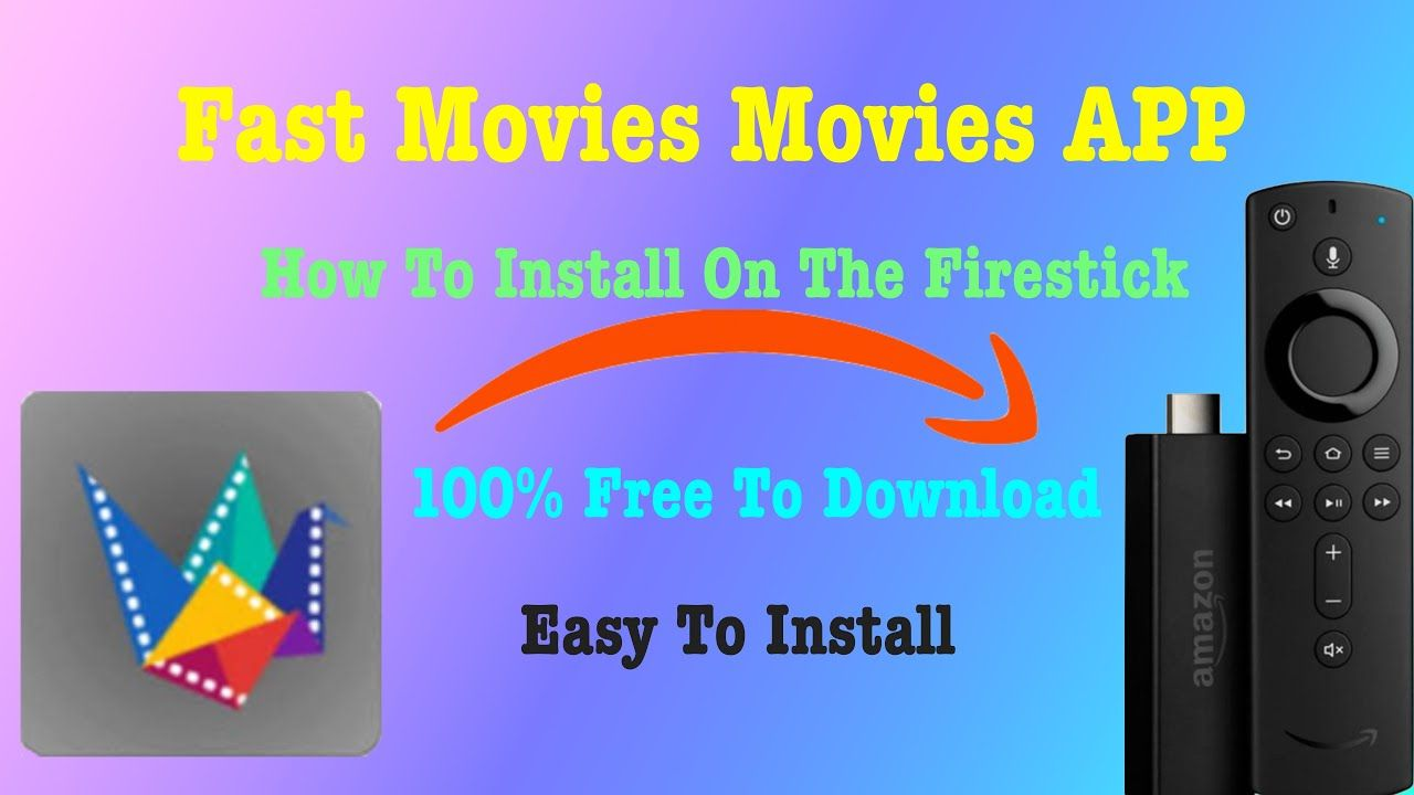 Fast Movies How To Install This App On Your Firestick Movie App App Application Android