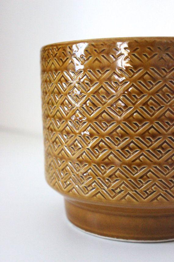 Dein Marktplatz Um Handgemachtes Zu Kaufen Und Verkaufen Vintage Flower Pots Ceramic Flower Pots Vintage Ceramic