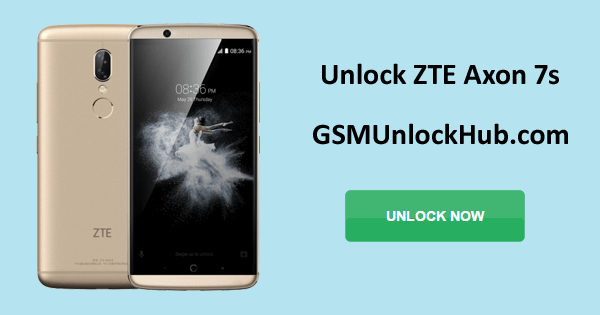 Unlock ZTE Axon 7s allows you to use any network provider