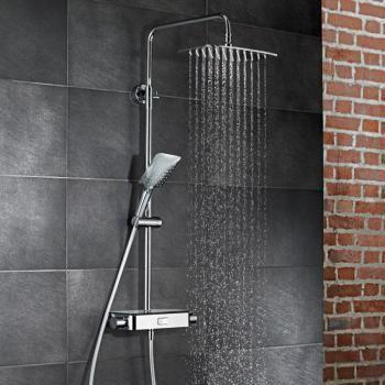 Hsk Aquaswitch Softcube Aufputz Thermostat Kopfbrause B 300 H 2