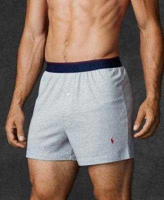 Polo Ralph Lauren Men S Supreme Comfort Knit Boxers 2 Pack Polphlauren Cloth Underwear