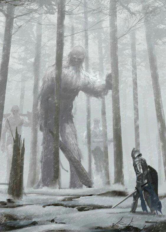 Hairy, scary giants