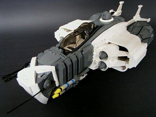 fighter awesome custom lego builds lego star wars l go star wars vaisseau. Black Bedroom Furniture Sets. Home Design Ideas