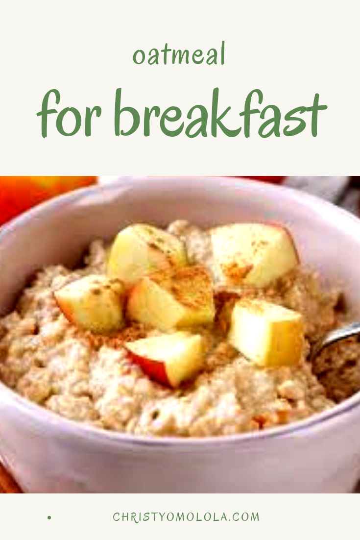 yummy and healthy oatmeal Easy oatmeal recipes, Cooking